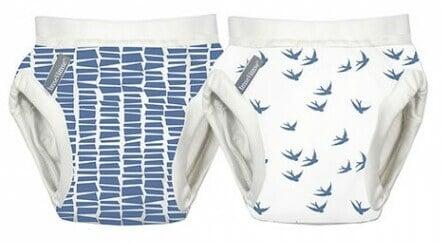 imse vimse trainerhosen blau vögel