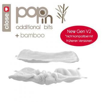 pop-in einlagen V2 stoffwindel bambus