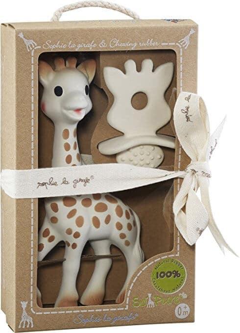 sophie la giraffe geschenk set