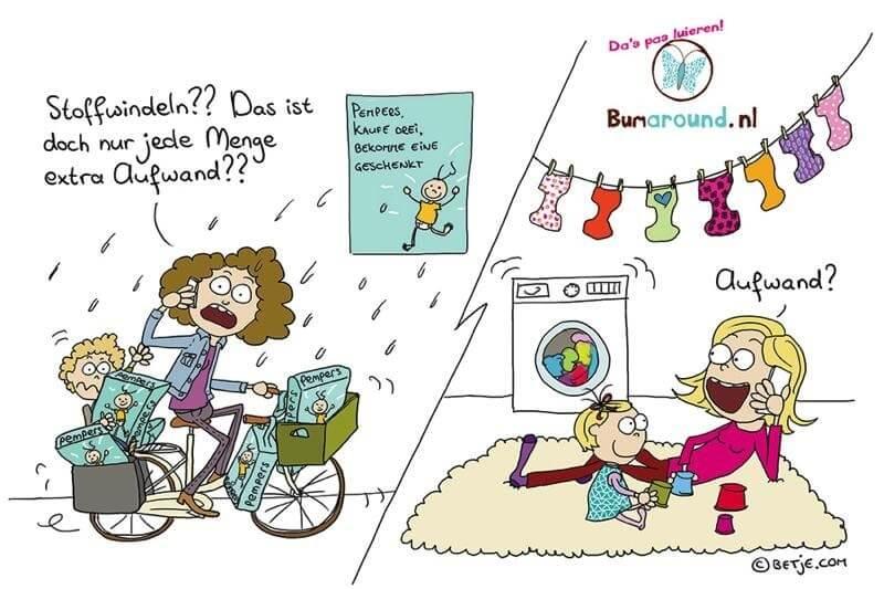 Stoffwindeln aufwand waschen vorurteile vorteile