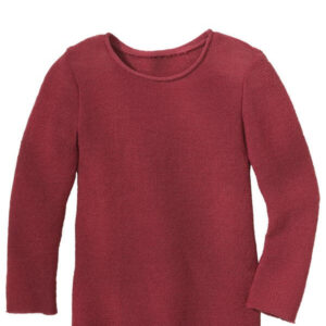 disana sommer wolle langarm pullover shirt wildbeere