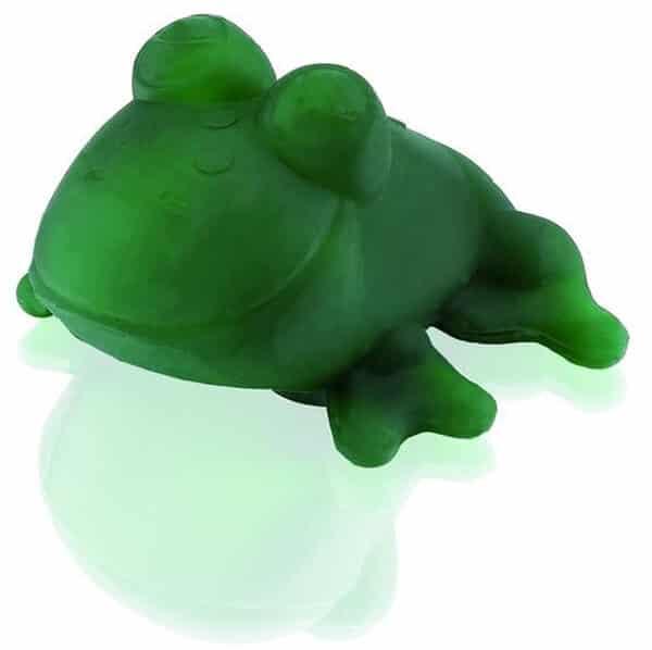 hevea badespielzeug plastikfrei frosch