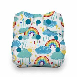 thirsties aio druckknöpfe neugeborene rainbow regenbogen