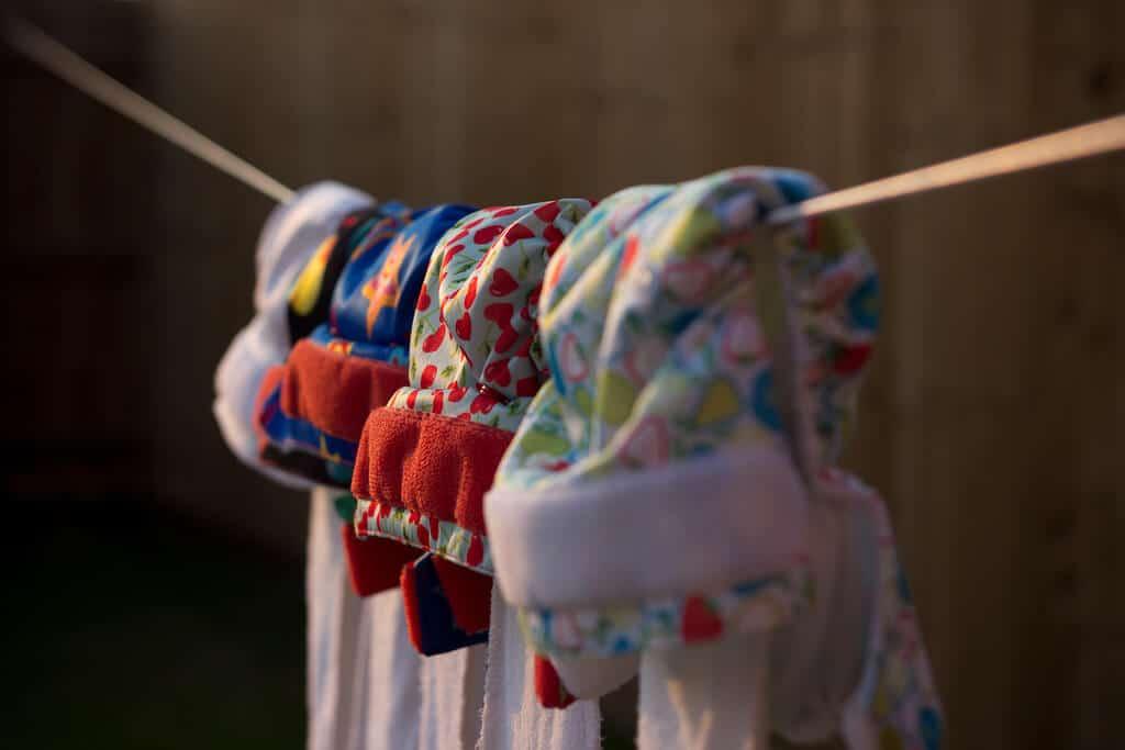wäscheleine stoffwindeln