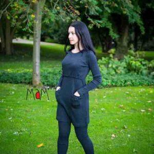 manymonths leggings all-time damen wolle schwangerschaftkleidung