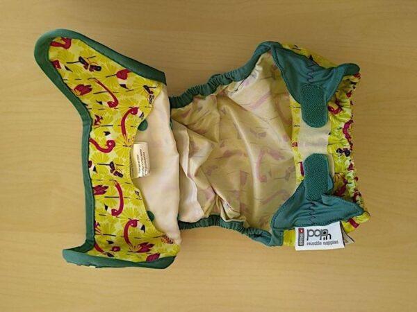 pop-in überhose klettverschluss innenseite innenleben laschen