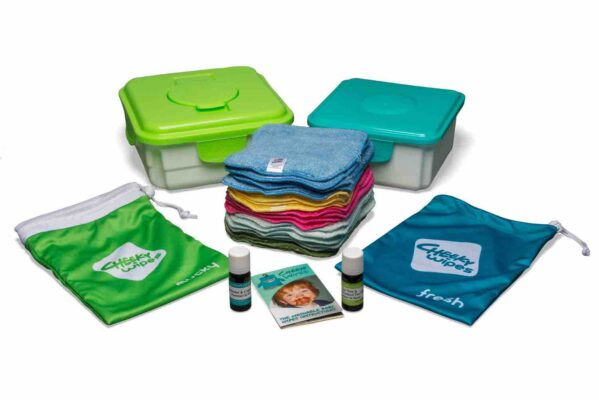 cheeky wipes stoff waschlappen maxi kit