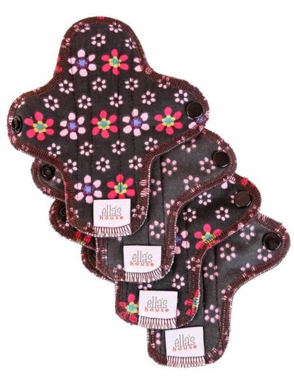ellas house mini pads slipeinlagen flowers blumen