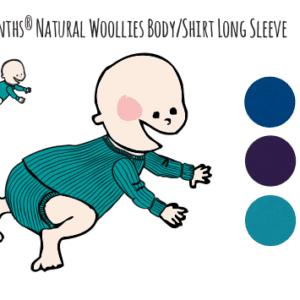 manymonths body shirt wolle langarm