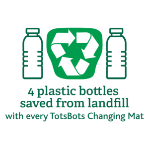 totsbots recycelter polyester wickelunterlage