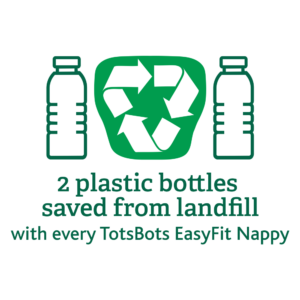 totsbots recycelter polyestert eaysfit all-in-one