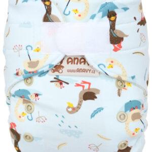 anavy wollüberhose neugeborene klett ducks enten