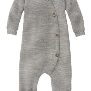 disana strick overall wolle baby grau