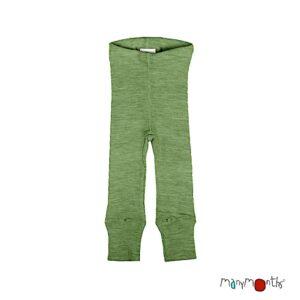 manymonths woolies leggings kinder jade green